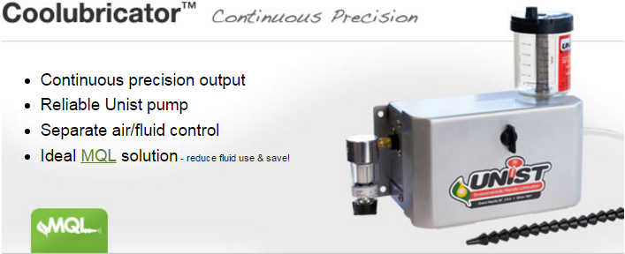 Unist Coolubricator Coolube MQL System